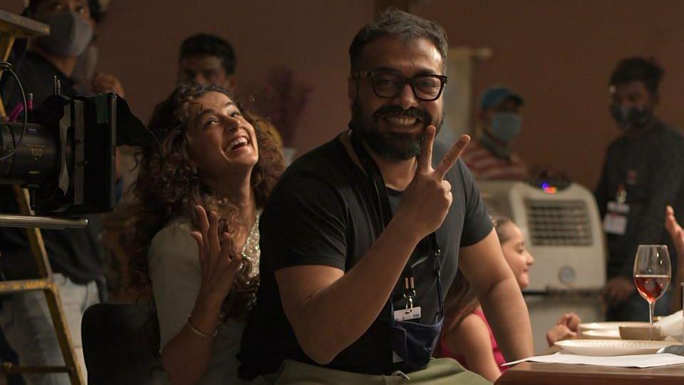 3 days after I-T raids, Anurag Kashyap, Taapsee Pannu resume 'Dobaaraa' shoot