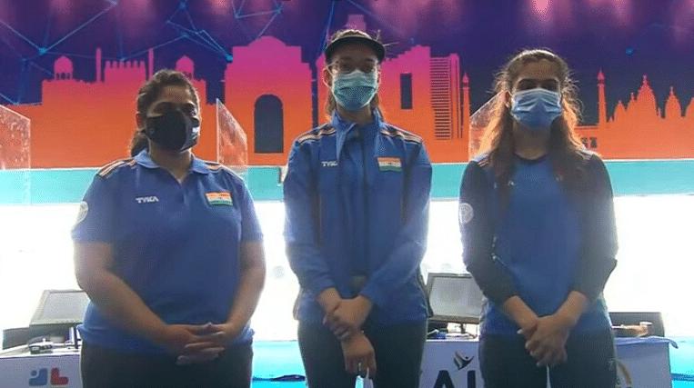 Shooting World Cup 2021: India sweep women's 25m pistol event, Chinki Yadav wins Gold
