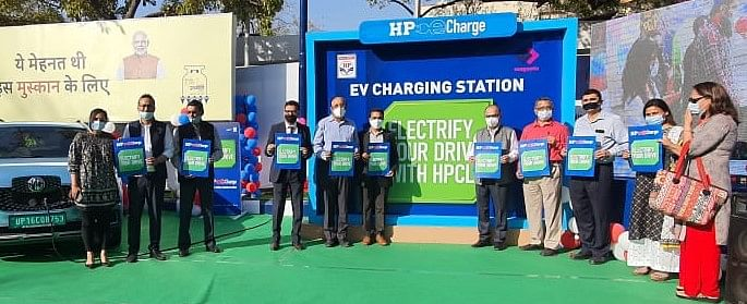HPCL boosts up Electric Mobility Ecosystem with a revolutionary new range of EV chargers