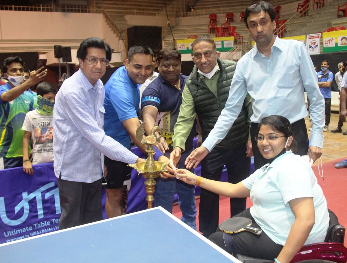 Para National Table Tennis Championship inaugural function Khel Prashal in Indore on Saturday