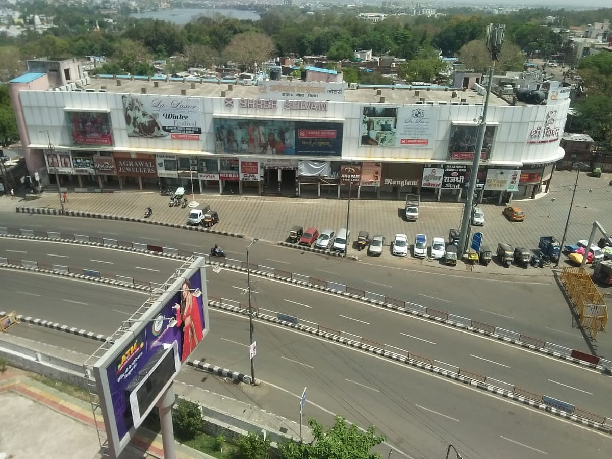 New Market Square, Bhopal