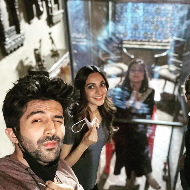 Bhool Bhulaiyaa 2: Kartik Aaryan welcomes Tabu with a quirky post after she refused to shoot due to COVID-19 fear
