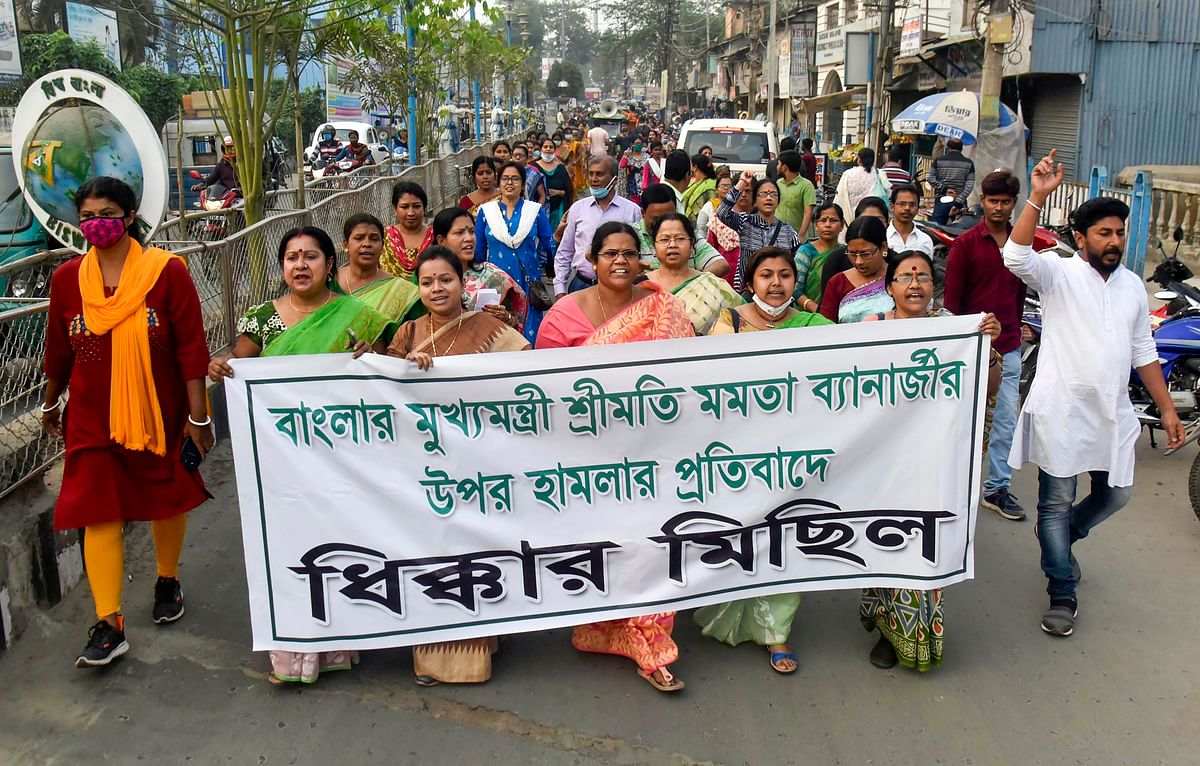 'Despite having Z+ security...': TMC to hold silent march across West Bengal over alleged attack on Mamata Banerjee in Nandigram