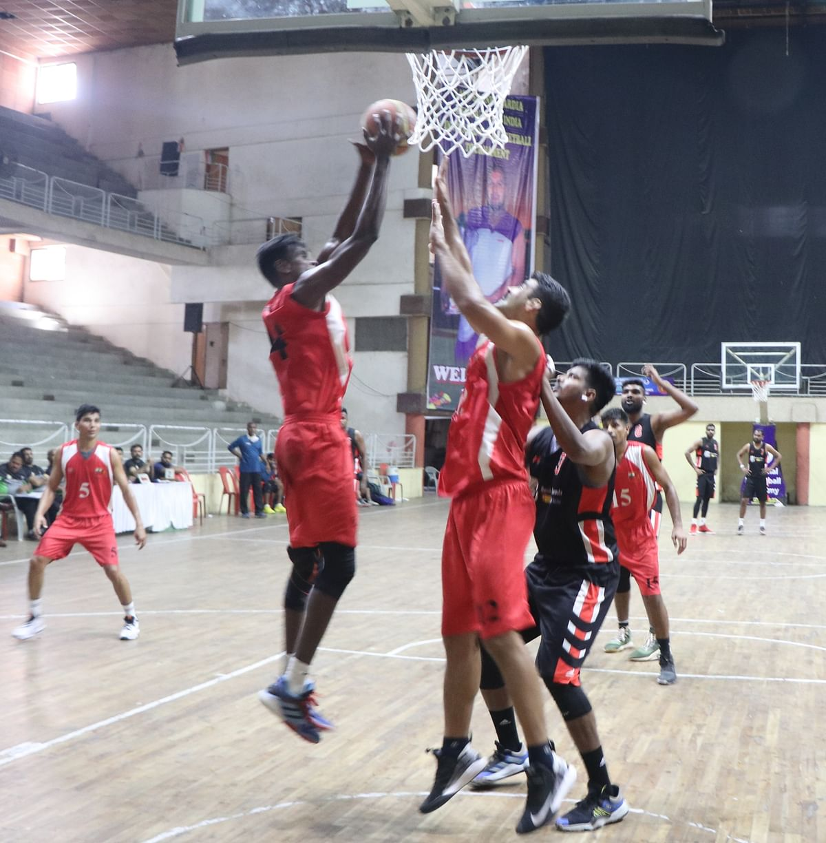 Basketball match in Indore on Sunday