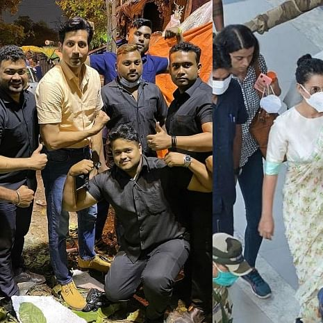 Sumeet Vyas takes a jibe at Kangana Ranaut as he poses with eight bodyguards in latest pic