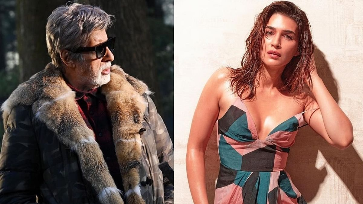 'Raha nahi jata': Amitabh Bachchan brutally trolled for commenting on Kriti Sanon's sultry pics