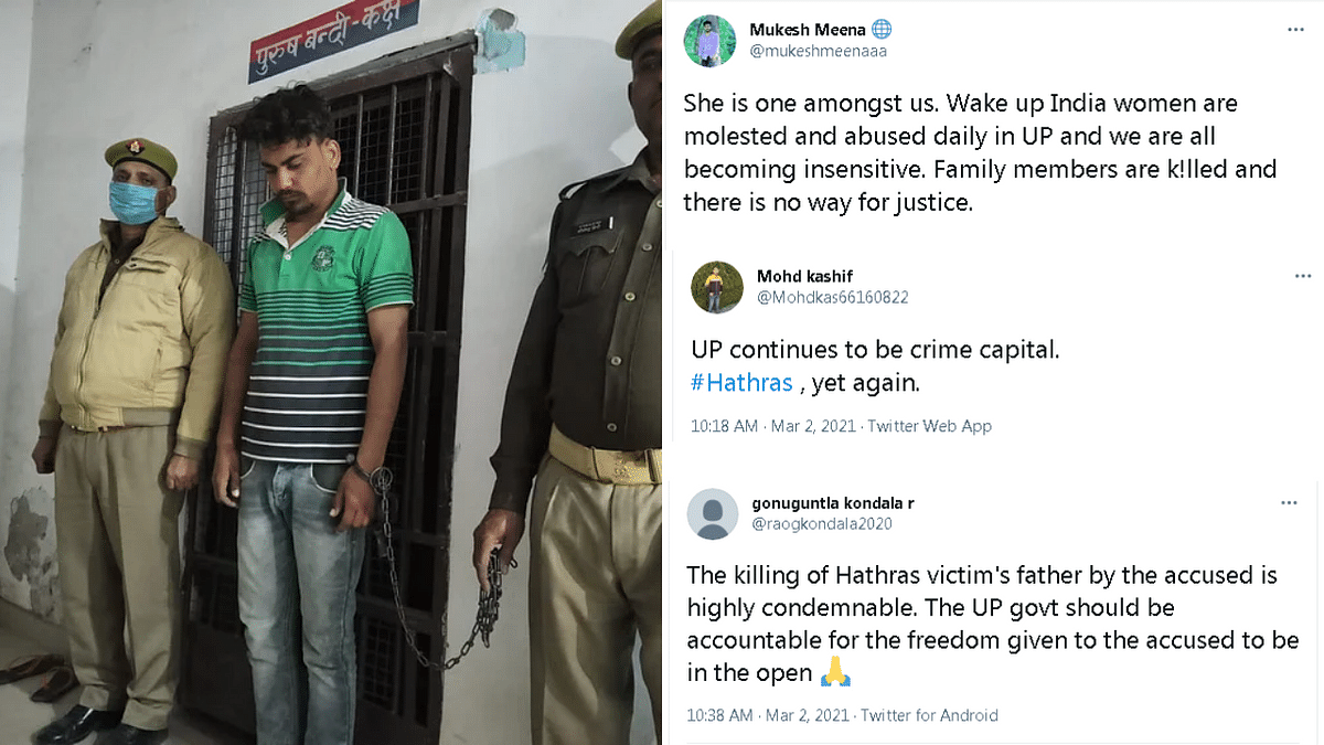 'UP epicentre for every crime in India': Twitter condemns murder of sexual assault survivor's father in Hathras