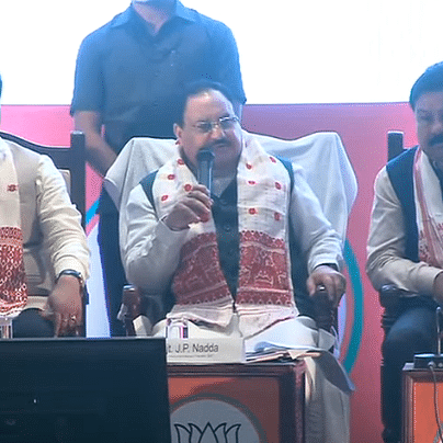 BJP releases manifesto for Assam assembly elections, Nadda says 'will work on corrected NRC'
