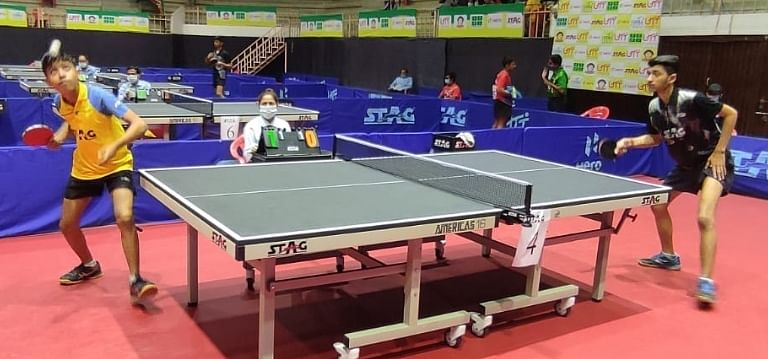 Indore: Madhya Pradesh's Naitik, Anuj in main round of national cadet and sub-junior table tennis tournament