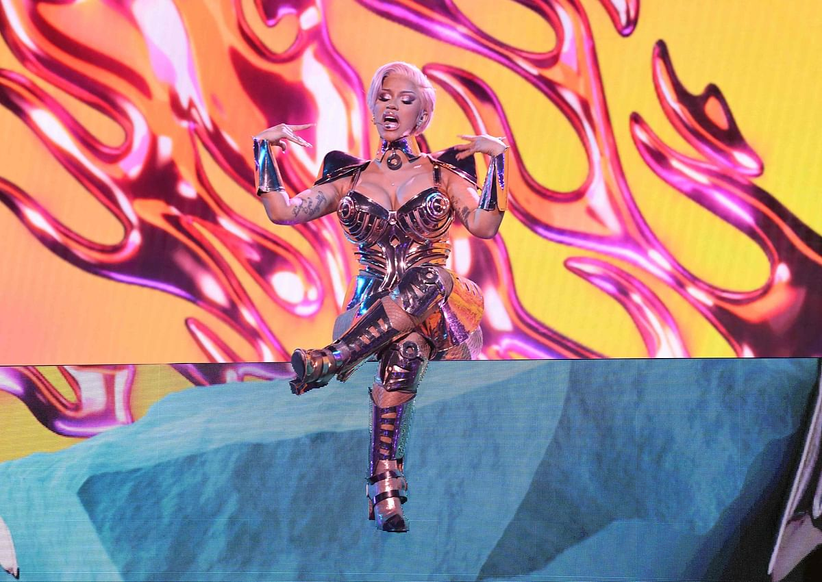 Did Cardi B fart during her 'WAP' performance at Grammys 2021?