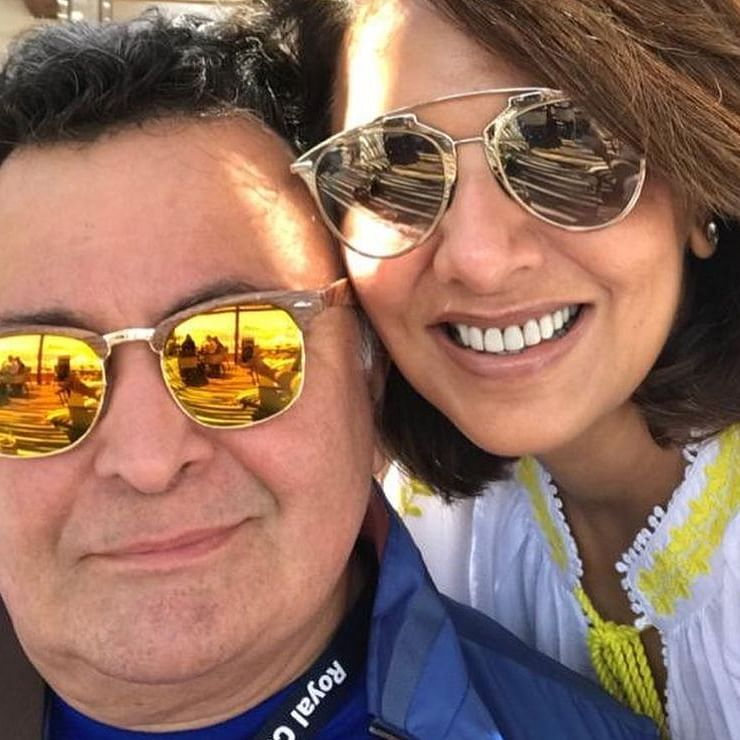 Neetu shares moments with Rishi Kapoor from their last trip to NYC