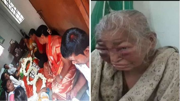 West Bengal: 85-year-old woman, who was allegedly attacked by TMC workers in February, passes away