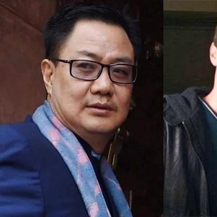 'Stick to professional duties': Kiren Rijiju to Taapsee Pannu's rumoured boyfriend Mathias Boe for remarks on I-T raid