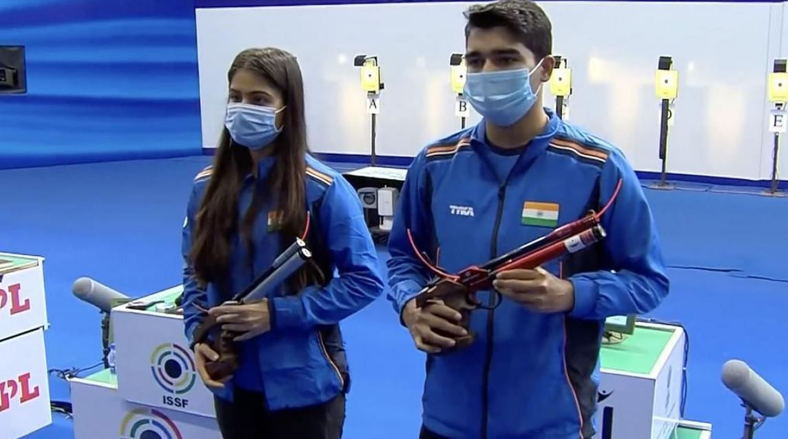 Shooting at Tokyo Olympics: India's Saurabh Chaudhary, Manu Bhaker come cropper in mixed team event