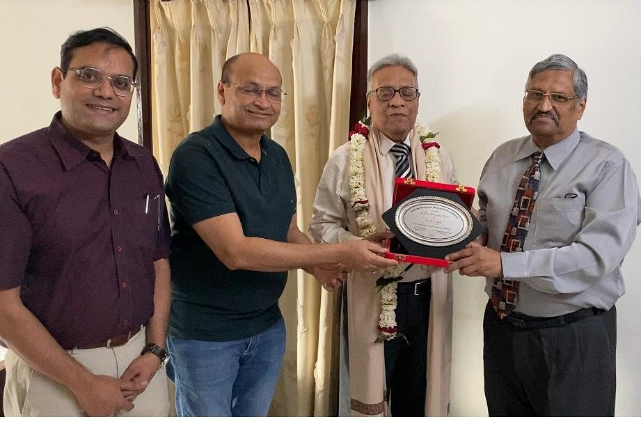 Indore: Dr DK Jain honoured with Life Time Achievement Award