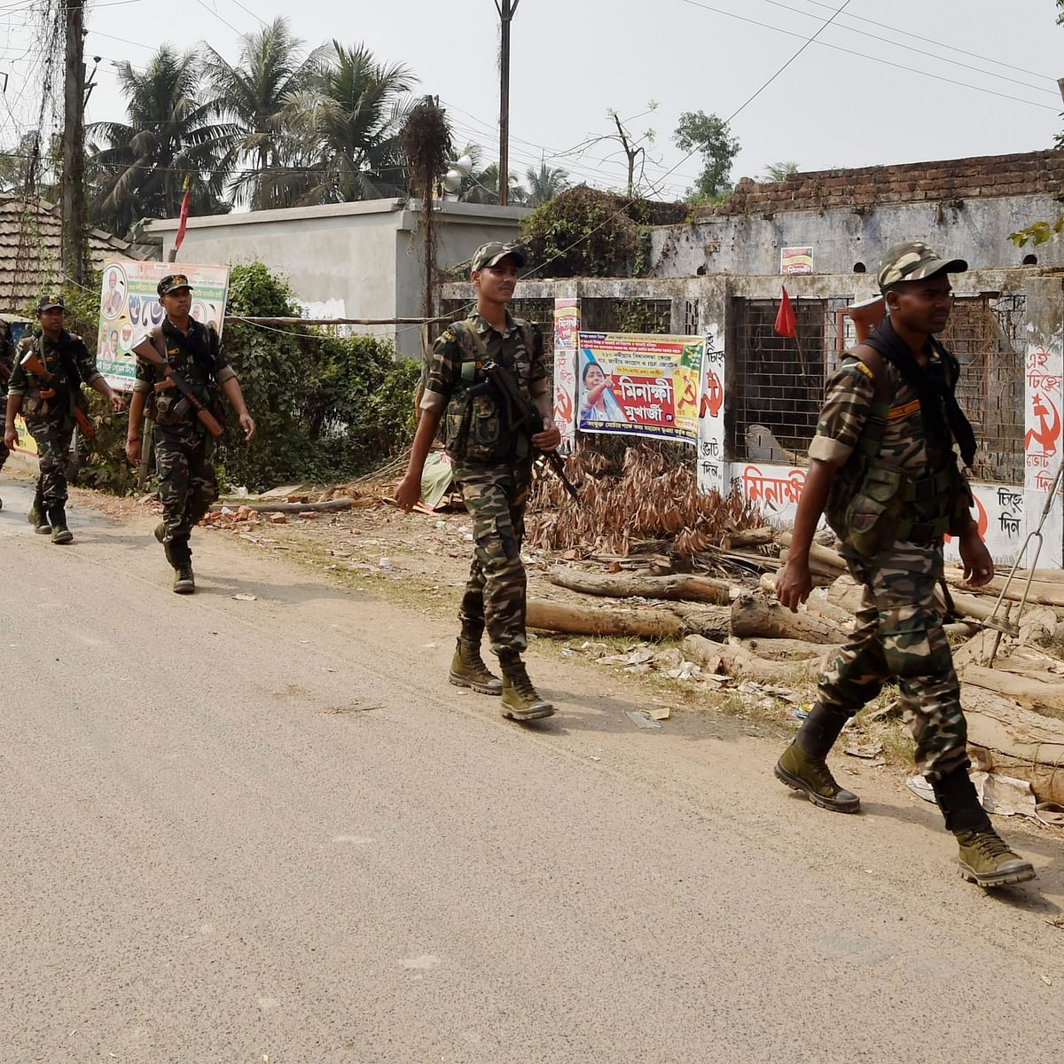 West Bengal polls: 56 bombs recovered in Narendrapur, says EC