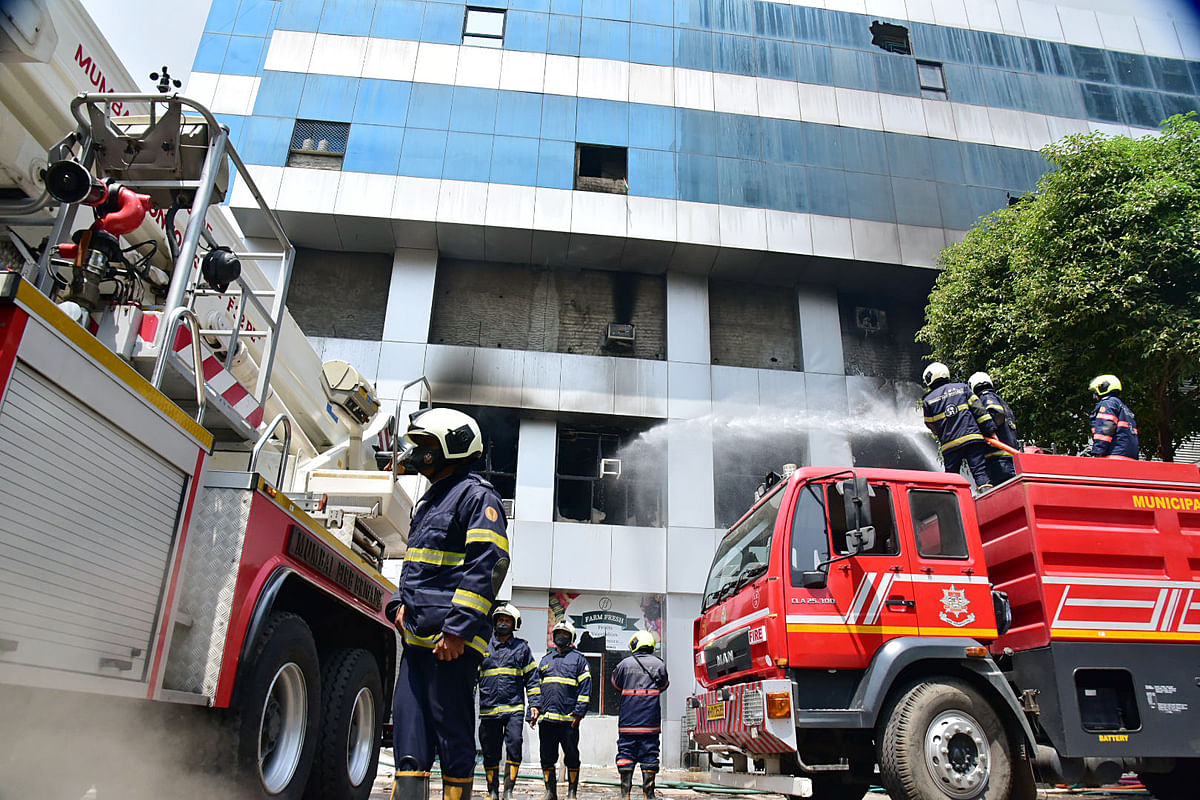 Bhandup hospital fire: Cooling operations continue 36 hours on