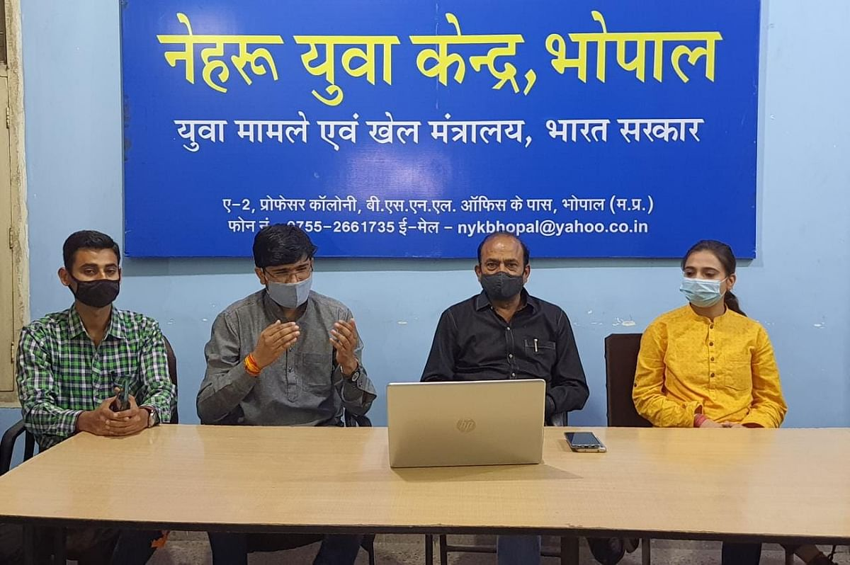 Nehru Yuva Kendra organised an online seminar on Ek Bharat- Shresth Bharat in Bhopal on Saturday evening