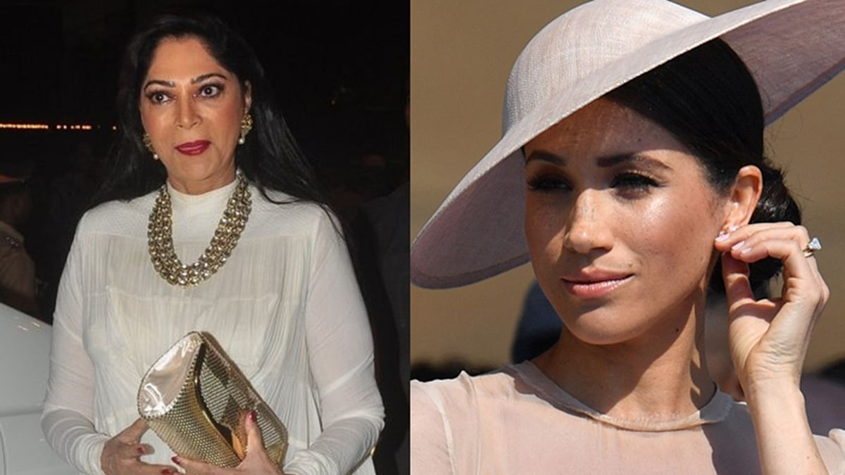 Simi Garewal withdraws the word 'evil' after being trolled for tweet on Meghan's interview with Oprah