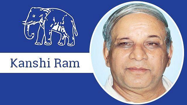 BSP founder Kanshi Ram
