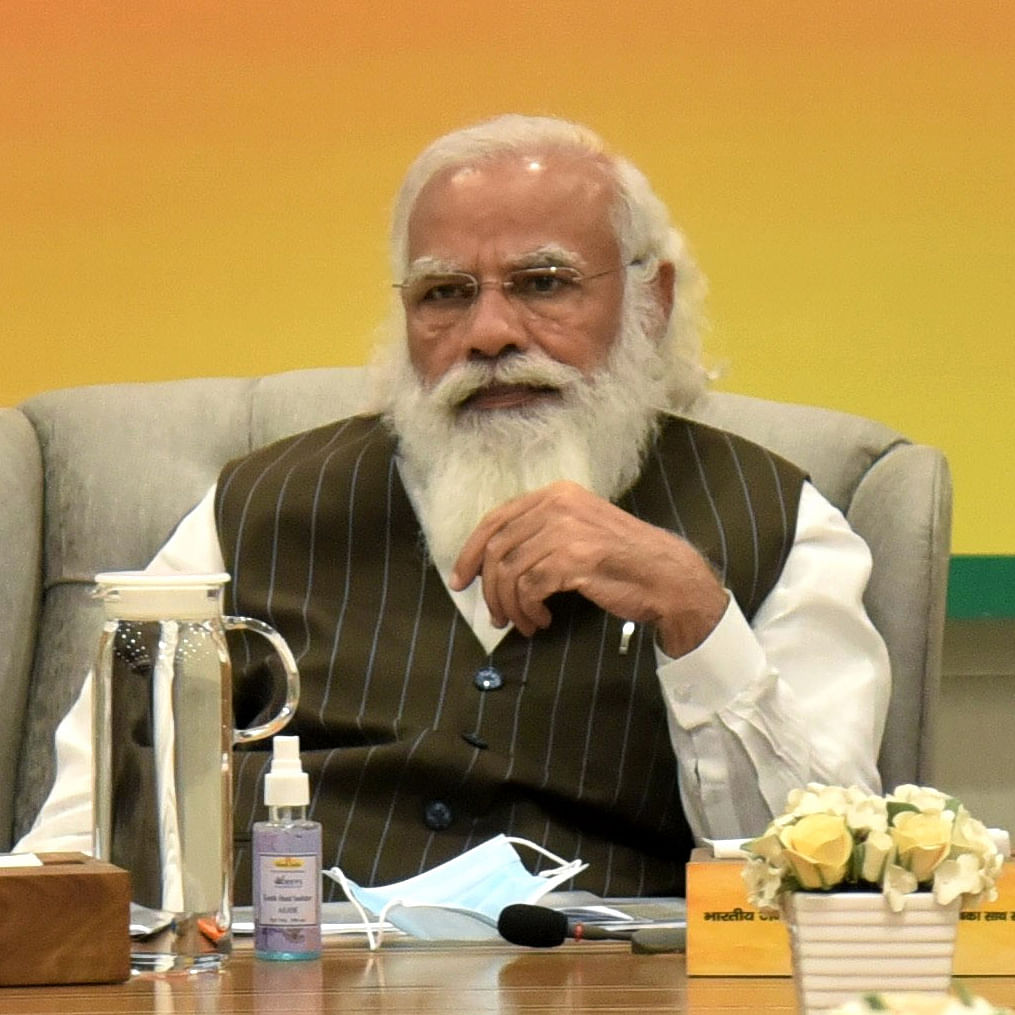 Need to work hard to make manufacturing in India globally competitive, says PM Modi