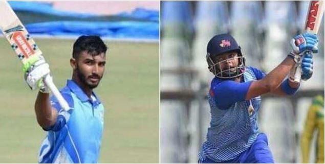 Devdutt Padikkal (L) and Prithvi Shaw
