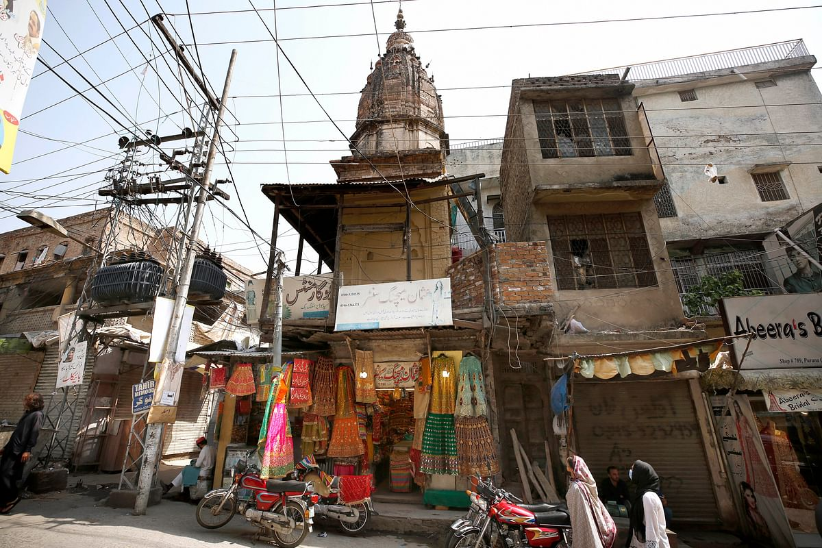 Hundred-year-old Hindu temple in Pakistan's Rawalpindi attacked by unidentified people