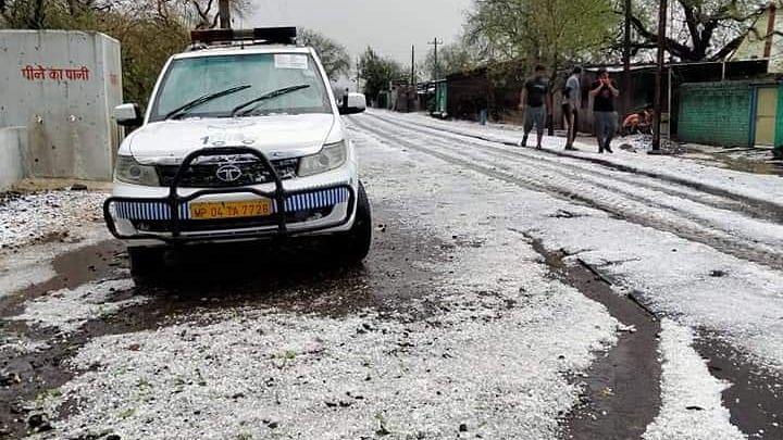 Gusty wind, hailstorm, rain hit parts of Madhya Pradesh