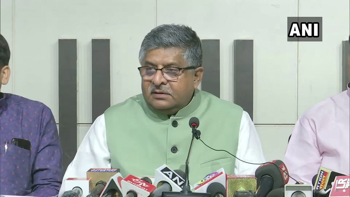 If Rs 100 cr was target by Anil Deshmukh, what was the target of other ministers, asks Ravi Shankar Prasad