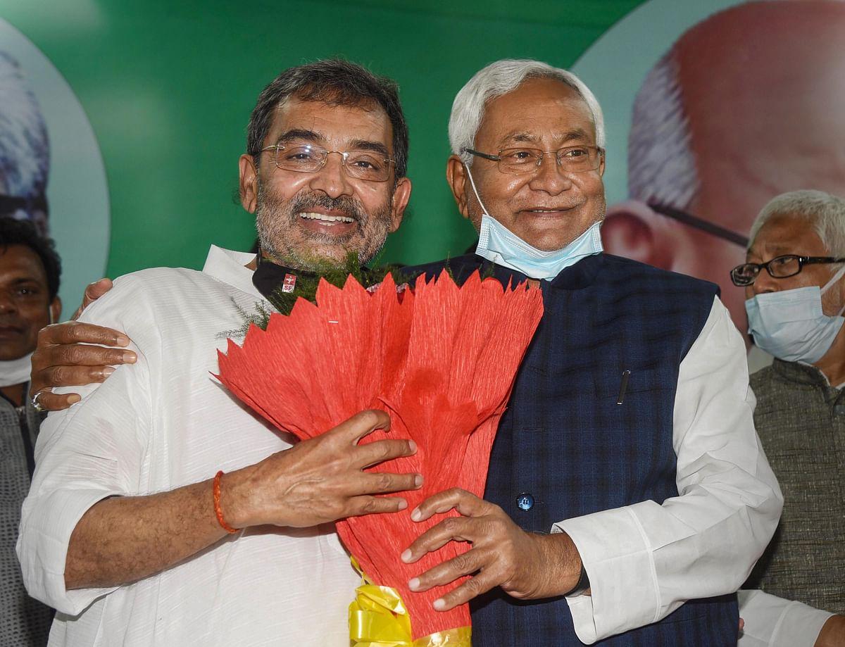 Bihar: Upendra Kushwaha merges RLSP with JD(U), gets rewarded with top party post by Nitish Kumar