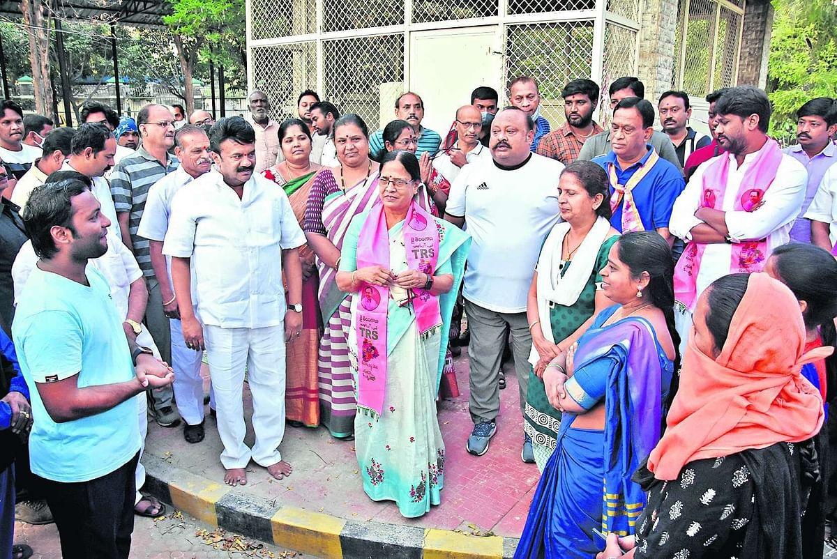 Ex-PM PV Narasimha Rao is the buzzword in the graduates' constituency polls, writes VJM Divakar