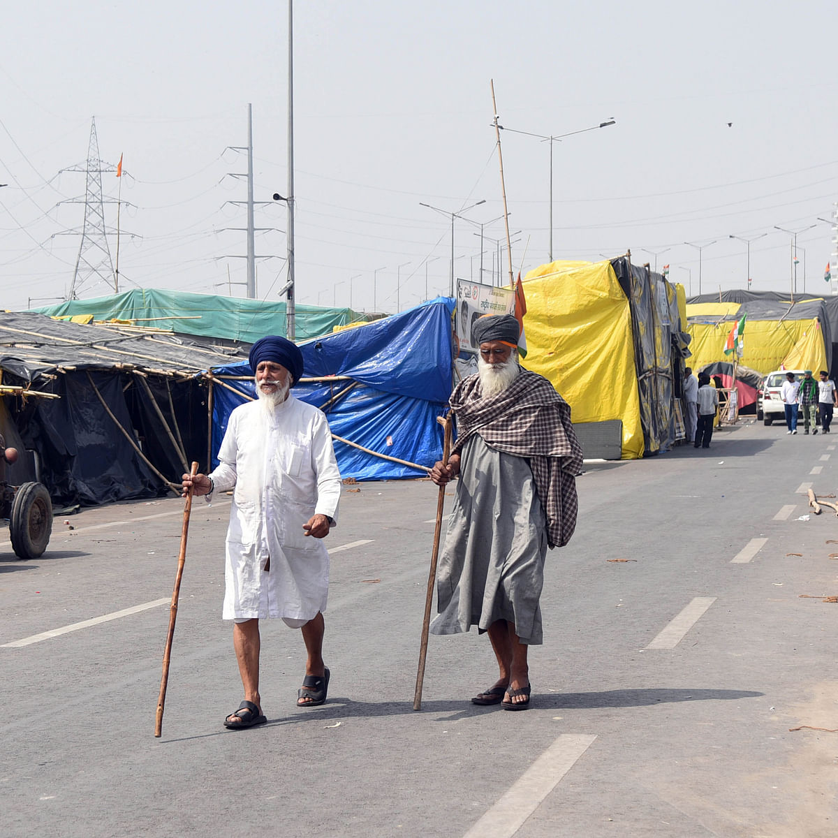 Farmers' protest: Ghazipur border reopens, traffic movement allowed from Delhi to UP