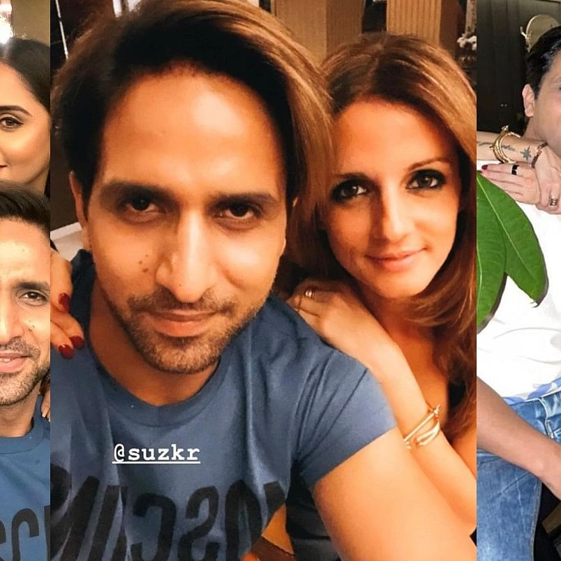 8 years after split from Hrithik Roshan, Sussanne Khan dating 'BB14' fame Aly Goni's brother Arslan?