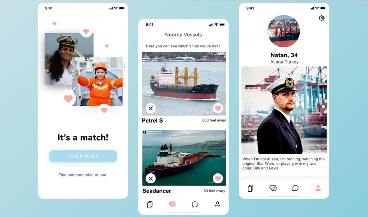 Forever Given: A new 'dating app' for those stuck on ships in the blocked Suez Canal