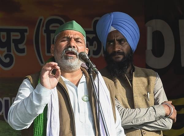 Rakesh Tikait seeks to rally Rajasthan farmers against 3 contentious farm laws