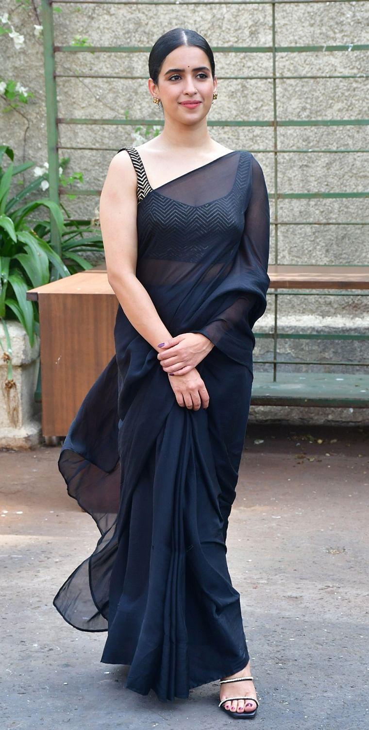 Back to Black: Sanya Malhotra, Alia Bhatt and other celebs who rocked the season's favourite colour
