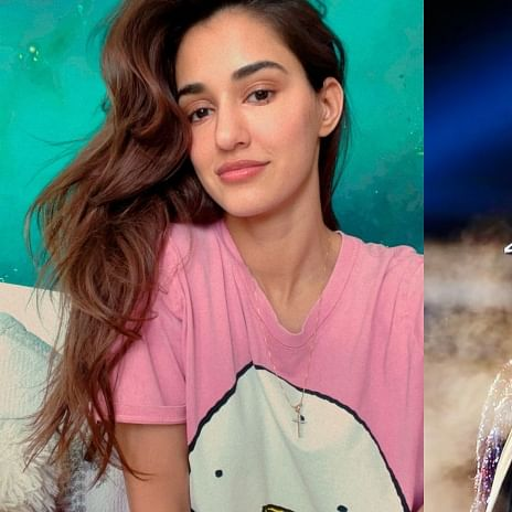 Disha Patani can't stop gushing over  BTS singer V as she watches 'ON' music video
