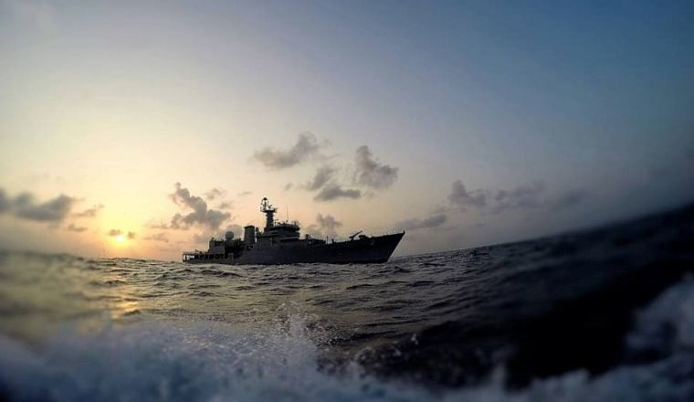 Kerala: Indian Navy seizes narcotics worth Rs 3,000 cr from fishing vessel in Arabian Sea