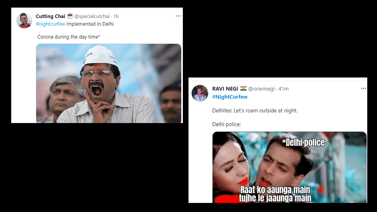 VIRAL: Delhi government announces night curfew, meme fest follows on Twitter