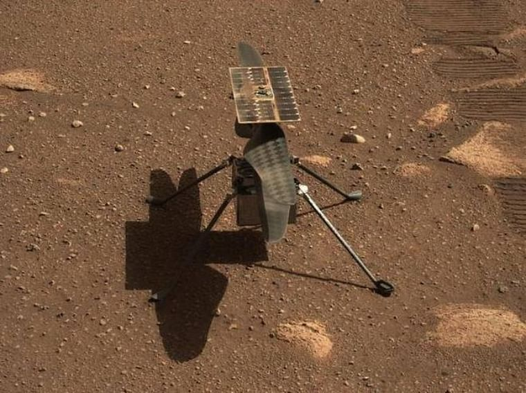 NASA's experimental Mars helicopter makes history with successful flight on Red Planet