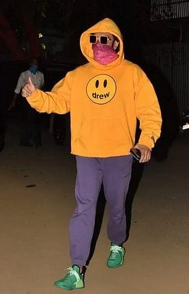 Ranveer Singh rocks an oversized hoodie
