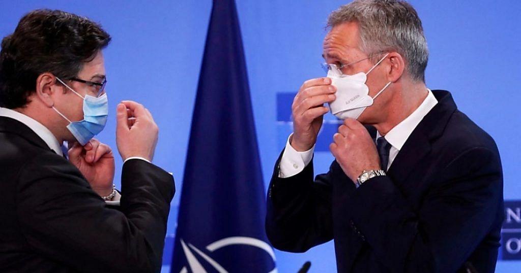 NATO pledges to support Ukraine, warns Russia on troop buildup