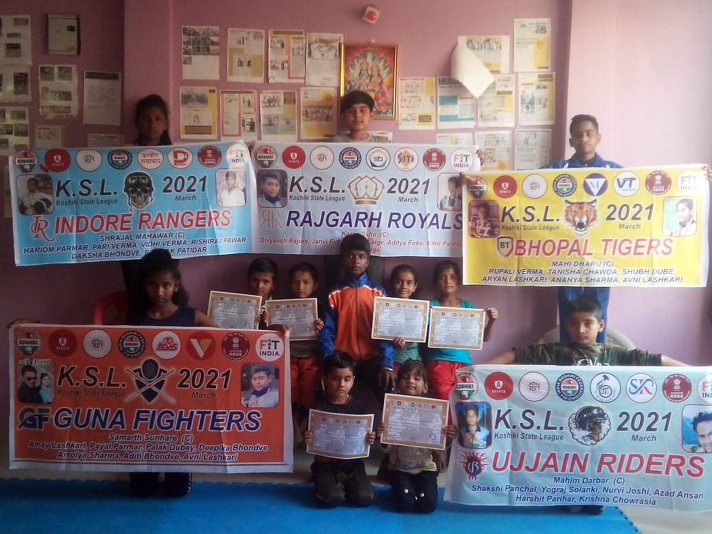 The ranking list of Koshiki Madhya Pradesh Association declared on Monday.