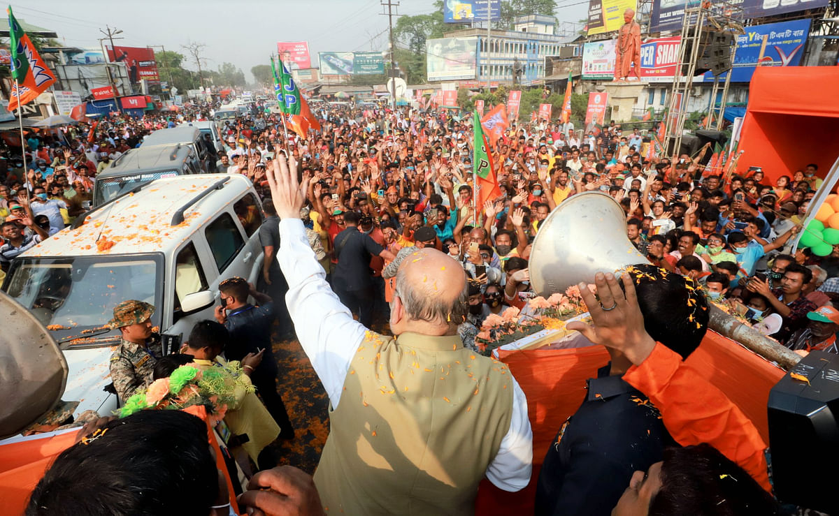 When NRC is implemented not a single Gorkha will be asked to leave: Amit Shah in West Bengal