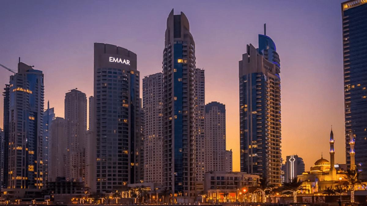 Dubai police arrest group over balcony video of naked