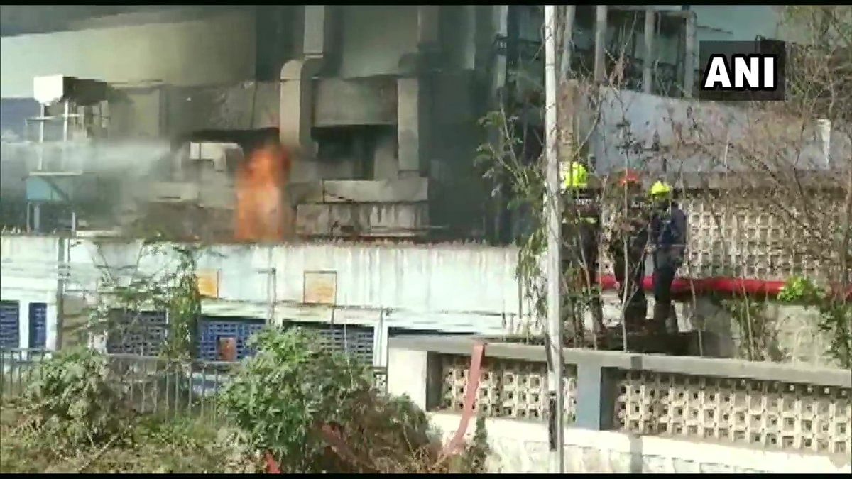 Palghar: Fire breaks out at Bajaj HealthCare unit in Tarapur MIDC