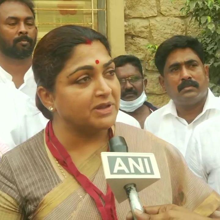Tamil Nadu Assembly polls 2021: BJP's Khushbu Sundar alleges cash distribution to voters by DMK, urges EC to take action