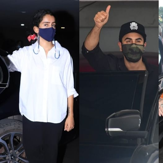 Mumbai: Ranbir Kapoor, Sanya Malhotra, Ekta Kapoor and other celebs spotted in town