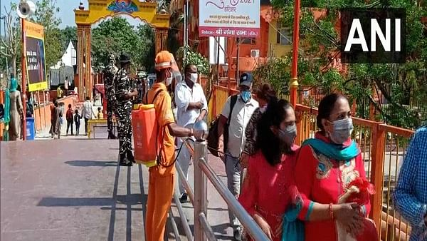 Kumbh Mela witnesses low footfall on first day in Haridwar amid COVID-19 scare