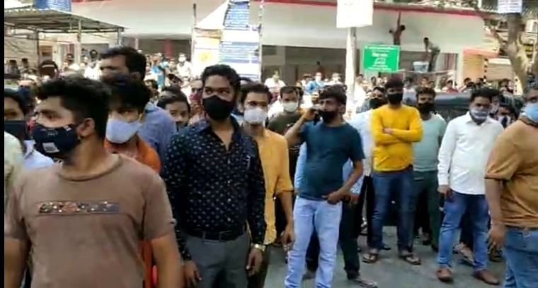 COVID-19: Shops forcefully shut in Panvel, Kharghar; civic officials face protest